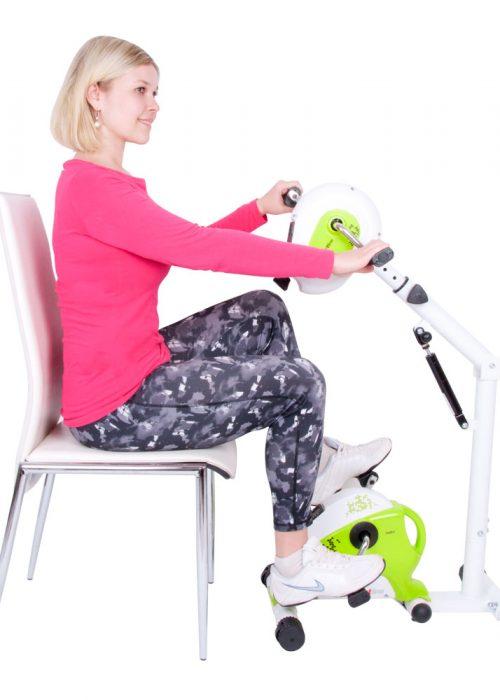 Motionscykel Helike 2 i 1 ben/överkropp