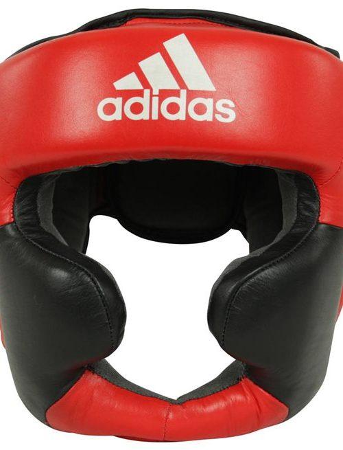 Adidas Huvudskydd Boxning Super Pro Svart/Ršd