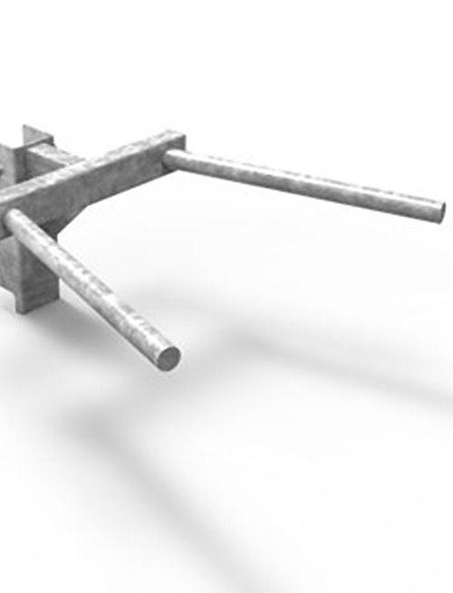 Eleiko XF 80 Dips Module - Galvanized