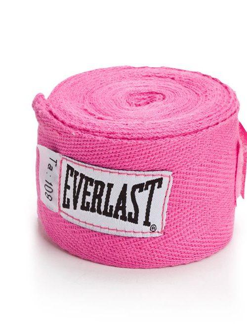 Everlast Cotton Handwraps Pink