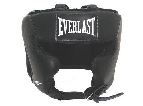 Everlast Traditional Headgear Leather S/M