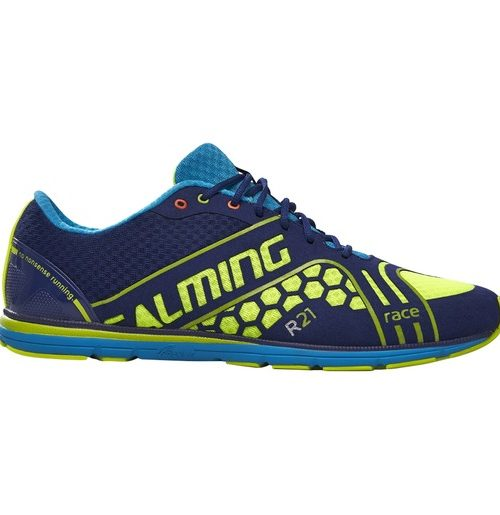 Salming Race 3 M Navy/SafetyYellow