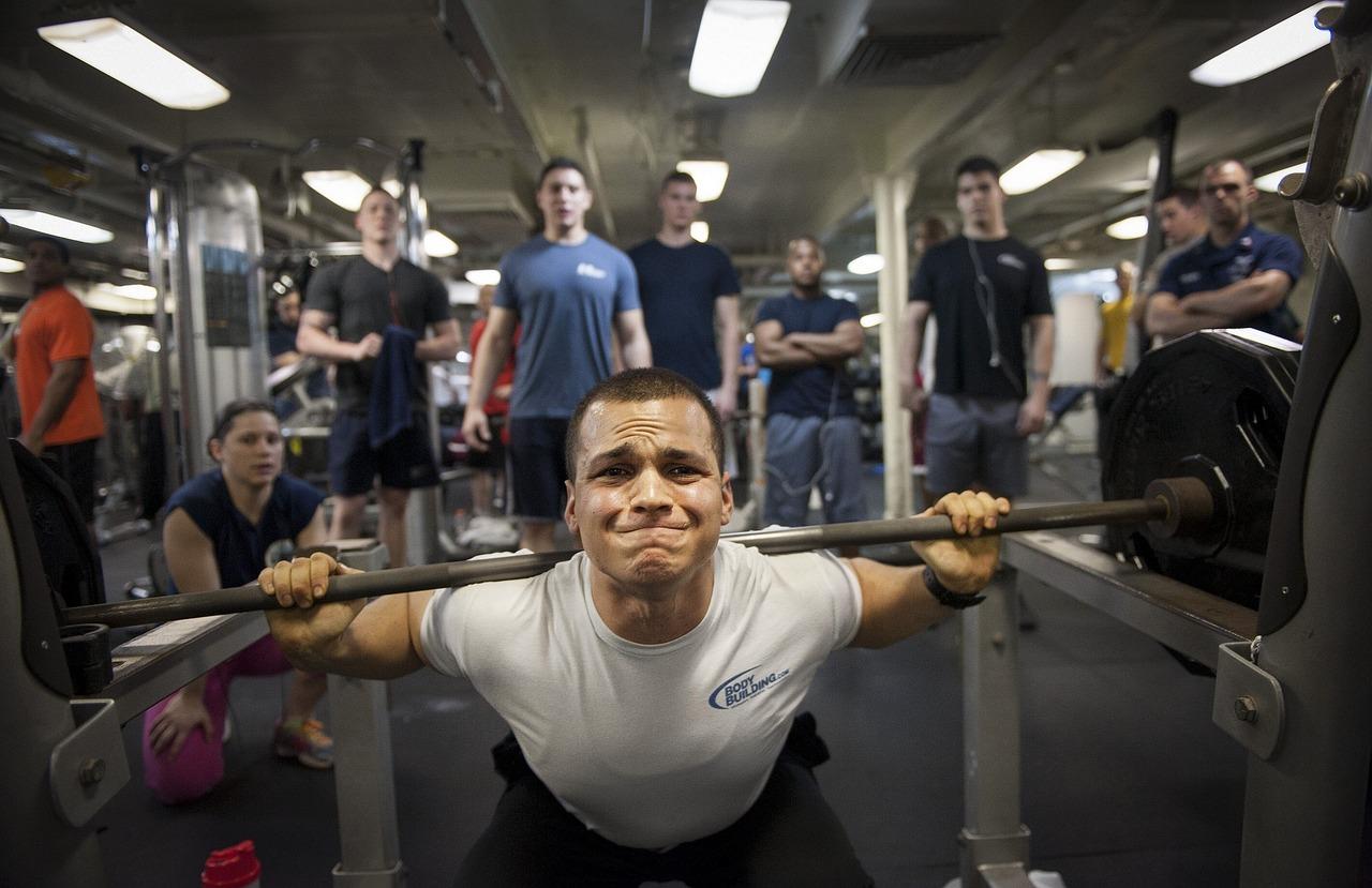 Gymträning proteinpulver