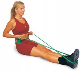 Abilica Fitnessband Medium / grön
