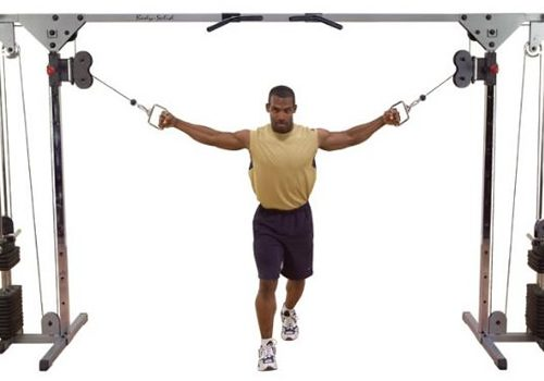 Body-Solid Cable Cross med viktmagasin