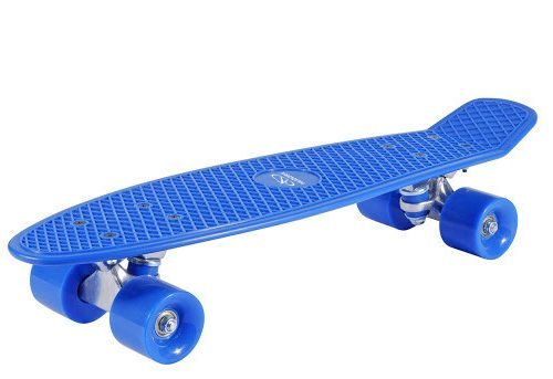 Skategboard Retro style Blå